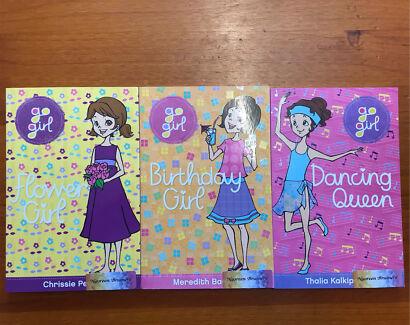 3 x Go Girl Kids Childrens Chapter Books Novels