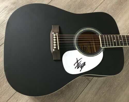 """MITCHELL TENPENNY SIGNED AUTOGRAPH 41"""" FULL SIZE ACOUSTIC GUITAR w/EXACT PROOF"""