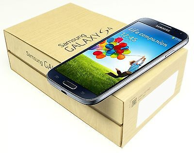 New Samsung Galaxy S 4 SGH-I337 Latest Model 16GB Black Mist Unlocked Smartphone