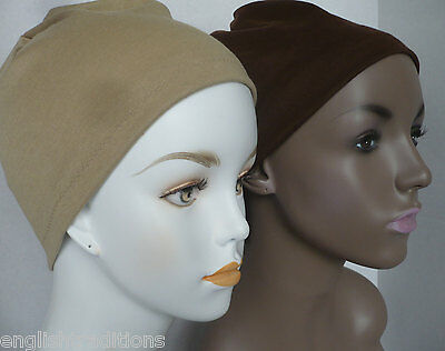 Ladies Cancer Chemo CPAP Soft Sleep Caps Hair Loss Turban Head Cover 15 colors