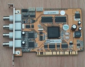 Hikvision DS-4002MDI PCI Recorder/Compression Card - For PC Based  DVR  CCTV