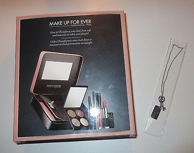 """MAKE UP FOR EVER Fifty Shades of Grey """"Give In To Me"""" Set ~ w/ GWP NECKLACE! New"""