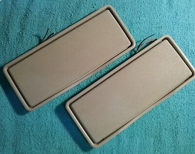 Mercedes w210 w140 w202 lite grey sunvisor Mirror vanity lights for sale  Shipping to Canada