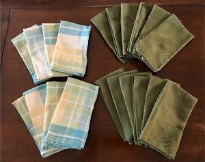 Cloth dinner napkins all for $20