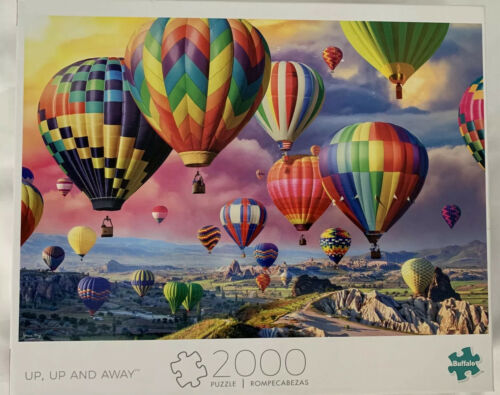 Buffalo Games Puzzle Art Of Play Up Up And Away 2000 Pieces New - $29.00