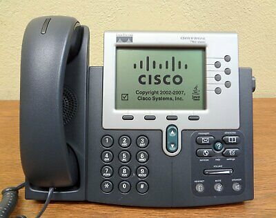 Lot Of 5 Cisco 7961 Cp-7961g Voip Ip Office Phone W Stand And Handset