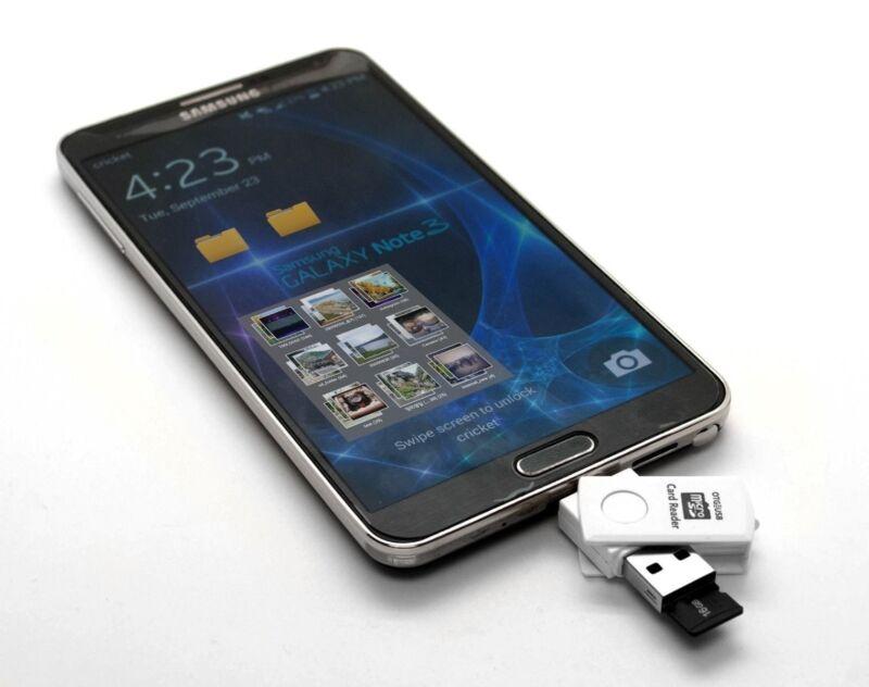 Adata MicroSD 32GB OTG Dual USB Micro Flash Pen Drive For Samung Galaxy S5 S4 S9