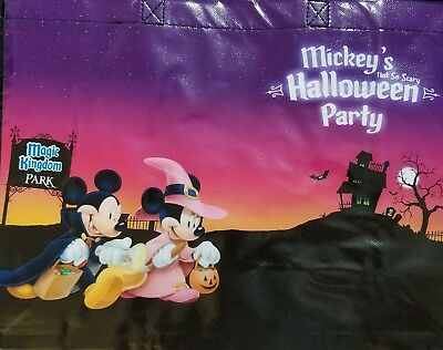 NEW Magic Kingdom Mickey's Not So Scary Halloween Party Trick-Or-Treat Tote Bag - Scary Halloween Magic Tricks