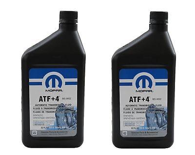 2x MOPAR ATF+4 0,946 L AUTOMATISCHES GETRIBE OIL 68218057AA NEU !!