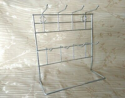 Earring Rack Countertop Jewelry Carded Hanging Display Wire Stand 11 X 12.5