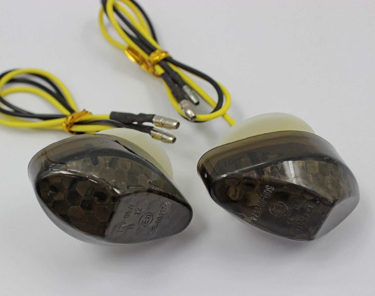 Suzuki LED Front Flush Mount Turn Signal Indicator Blinker Light  12 Volt  Smoke