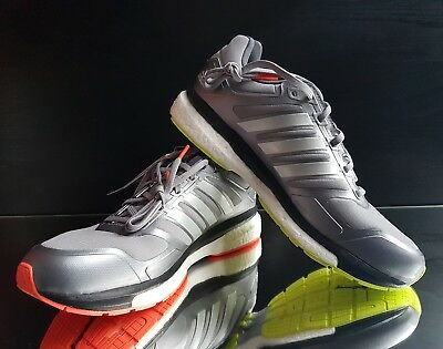 (Adidas Mens Supernova Glide Boost Clim Winter Running Shoes Grey B33574 UK6.5-11)