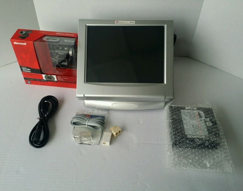 AVIVA 200 LIFEVIEW TELEMEDICINE VIDEO PATIENT  STATION W/ CAMERA