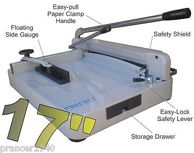 Heavy Duty Paper Blade (G17 PRO Heavy Duty STACK Paper Cutter - EXTRA blade/pad )