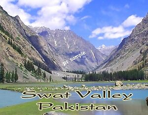 Pakistan-SWAT-VALLEY-Travel-Souvenir-Fridge-Magnet