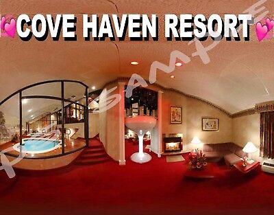 Haven Resort (Pennsylvania - COVE HAVEN RESORT - Travel Souvenir Flexible Fridge MAGNET)