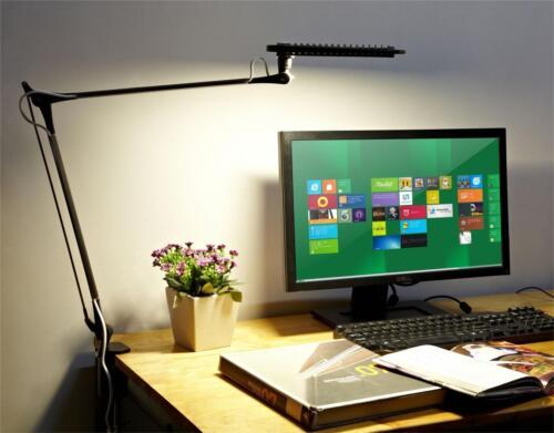 Clip On Light Swing Desk Table Professional Dimmer Eye Care