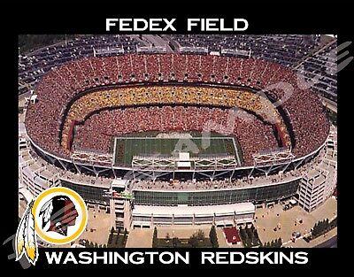 Washington Redskins - FEDEX FIELD - Souvenir Flexible Fridge - Redskins Fedex Field