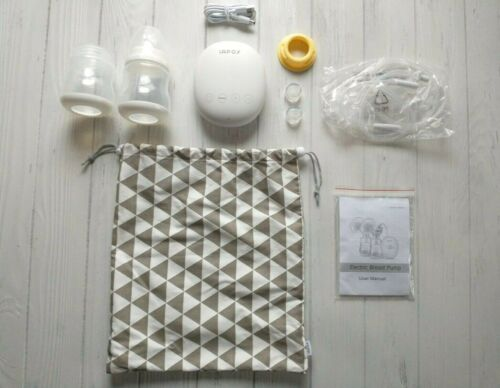 iAPOY Double Electric Breast Pump Model HT896AS Parts & Bag Incomplete READ