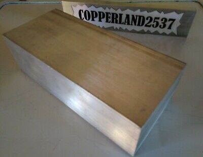 1pc 2 X 4 X 8 Long New 6061 Solid Aluminum Plate Flat Stock Bar Mill Block