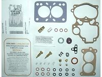WAUKESHA MODEL 195-GK /& 195-GKU ENGINE ZENITH 1 BARREL CARB KIT NEW ETHANOL TOLE