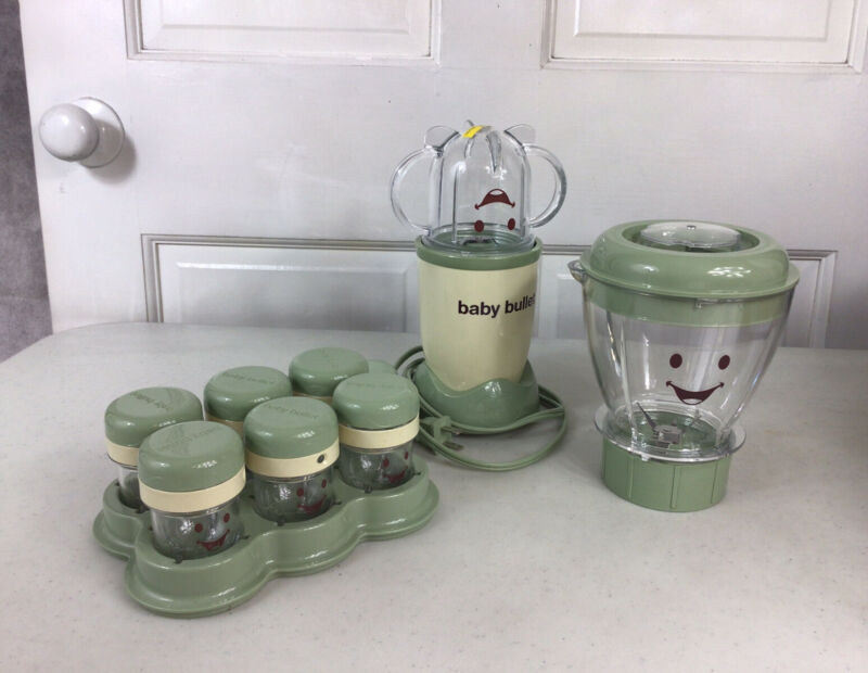 BABY BULLET Blender & Accessories Lot Used Once