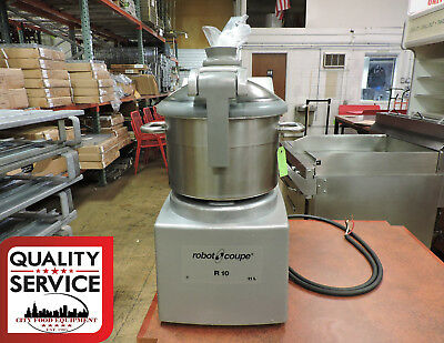 Robot Coupe R10 Commercial Table Top Cutter Food Processor
