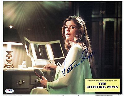 Katharine Ross Signed Stepford Wives Autographed 11X14 Lobby Card Psa Dna Y83950