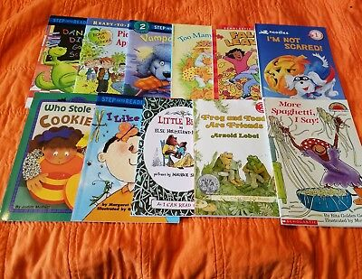 Beginner Readers (Lot 11) Level 1-2, Grades K-2, Step Into Reading, Hello Reader - Beginner Level