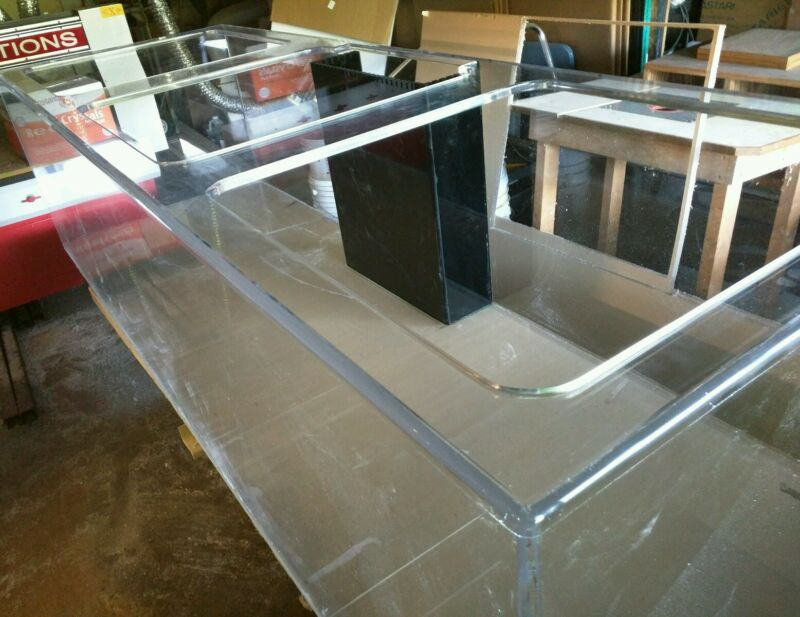 Acrylic Creations Acrylic Aquarium.. New .. 320 gallon.. 96/32/24