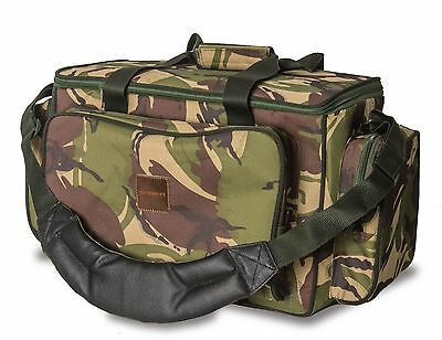Saber Fishing Tackle DPM Camo Medium Carryall / Bag Carp Luggage for bait reels