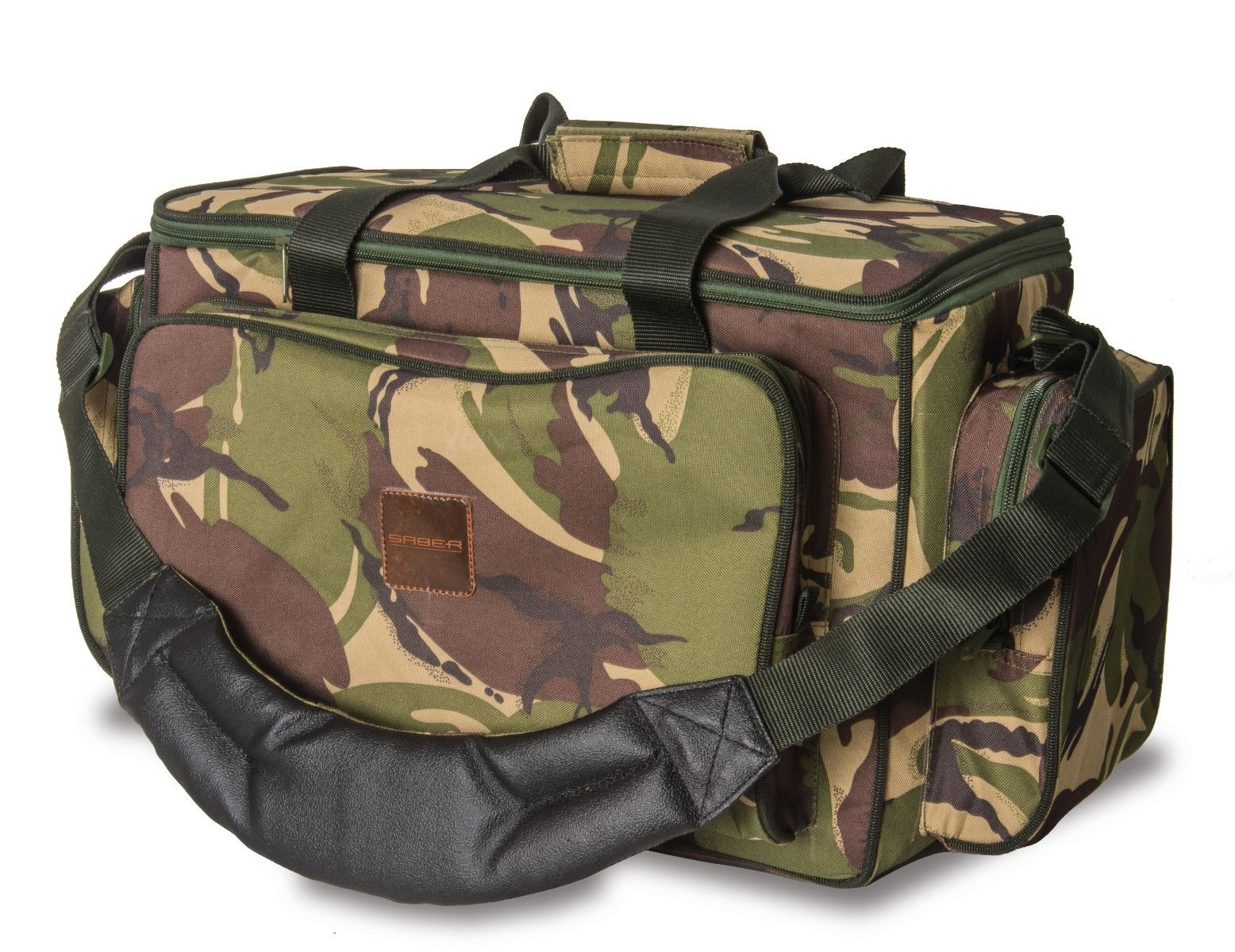 Saber Fishing Tackle DPM Camo Medium Carryall / Bag Carp Luggage for bait reels
