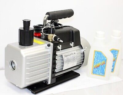 Two Stage 3.5cfm Ac Hvac Vacuum Pump 13hp 110v R134a Medical Printing Packing