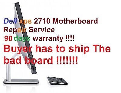 Dell XPS One 2710 motherboard   G17RR / T85DC / 9KVM /3VTJ7  Repair Service