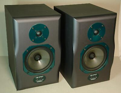 Pair of Soundcraft Spirit Absolute 4P Active Powered Studio Monitors Speakers