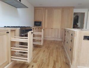 handmade solid oak kitchen