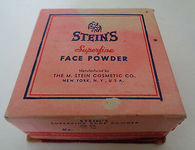 Vintage Steins Superfine Face Powder Box Choice of Stage & Screen Stars