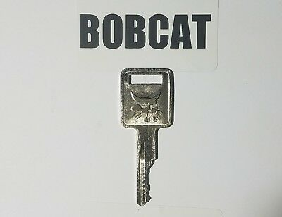 1 Bobcat Ingersol Rand Compactor Case Equipment Ignition Keys Logo On 1 Side