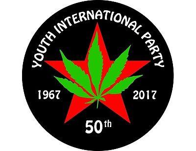 YIPPIE , Youth International Party , Display Magnet , Marijuana , Abbie - International Party