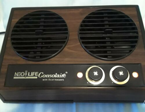VINTAGE NEO-LIFE CONSOLAIRE IONIZER W/DUAL FILTER