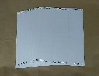 300-ct 10 Sheets Genuine Avery 5160 30-up Laser Printer Labels 1 X 2 58