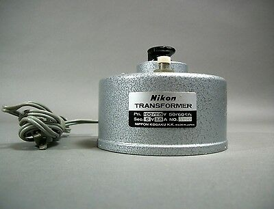 Nikon Microscope Power Transformer 110115v Free Shipping - For Parts As Is