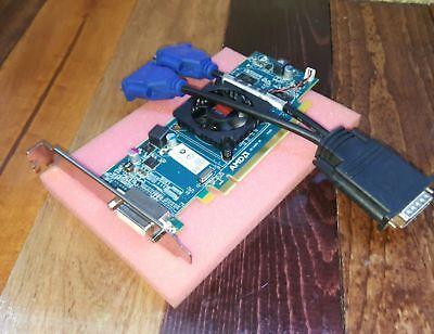 Dell Optiplex GX620 745 755 760 960 780 Tower Dual VGA Monitor Video Card comprar usado  Enviando para Brazil