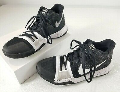 Nike Kyrie 3 TB Tuxedo Mens Size 8 Basketball Shoes 917724-001 Black White