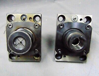 Lot Of 2 Cnc Machinist Lathe Live Tool Holder Drilling Manufacturing Metalwork