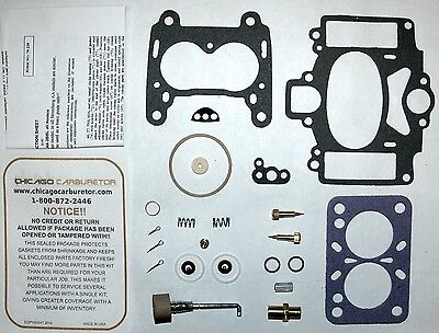 WWII CARB KIT WHITE 6 CYL ENG STROMBERG MODEL AA 2 BARRELS ETHANOL TOLERANT