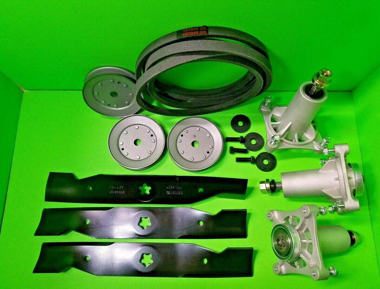 "Husqvarna YTH24K48 48"" Lawn Mower Deck Rebuild Kit Spindles"