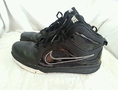 463144138bed NIKE BASKETBALL ATHLETIC SHOES - BLACK WHITE ( SIZE 6.5Y ) YOUTH
