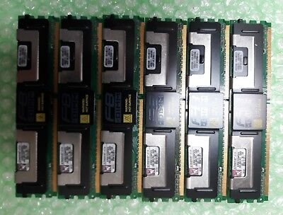 Kingston 2GB x1 2Rx8 PC2-5300F 667MHz CL5 ECC FB-DIMM Heat Sink, Server memory - Fb Dimm Ecc Lp