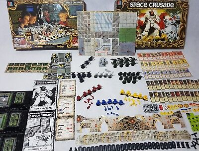 Space Crusade Board Game - 100% complete, prime condition [ENG, 1990]